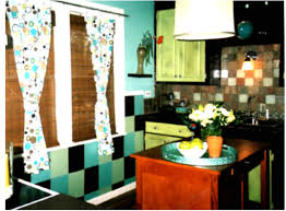 Blue Green Kitchen - wow blue and green kitchen 40 upon home decoration ideas designing
