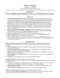account manager resumes manager resume sle template
