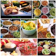 taco bar ideas to feed groups of 10 christmas pinterest
