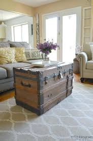 vintage trunk coffee table living room vintage trunk coffee table ideal for interior decor