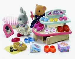 Sylvanian Families Garden Set Sylvanian Families Village Shoe Shop Toyworld