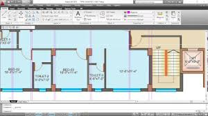 how to draw floor plan from a raster image in autocad part 01
