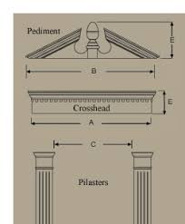 Exterior Door Pediment And Pilasters Polyurethane Entrance Window Systems Entry Buy