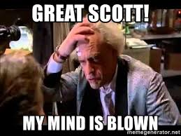 Doc Brown Meme - doc brown great scott meme mne vse pohuj