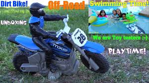 remote control motocross bike fun family swimming playtime remote control dirt bike toy