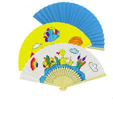 held fans for wedding new style bamboo paper pocket fan folding held fans wedding