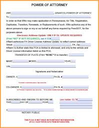 Power Of Attorney Form 2848 by 13 Pa Power Of Attorney Form Week Notice Letter