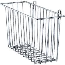Wire Shelving Storage Metro H210c Chrome Storage Basket For Wire Shelving 17 3 8