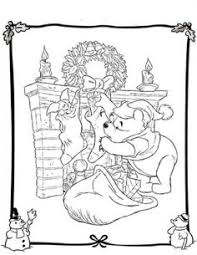free disney christmas printable coloring pages kids disney