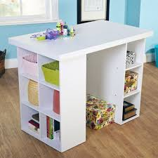 counter height craft table multiple colors walmart com
