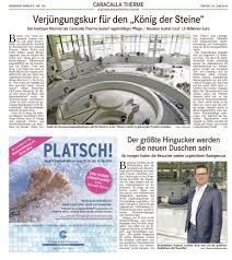 Caracalla Baden Baden Kruse Architekten Baden Baden Presse
