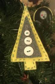 felt christmas tree ornament christmas pinterest felt