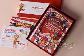 first birthday circus theme invitations gourmet invitations