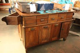 used kitchen island table