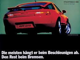 porsche poster porsche 928 period photos 1992 advertising poster 1600x1200