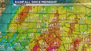 Texarkana Weather Radar Map Heavy Rain Causes Flooding Cancellations Road Closures Nbc 5