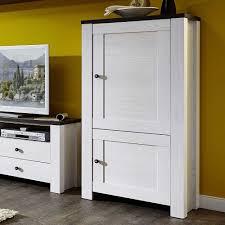 schrank zanzotta für ihr wohnzimmer in weiß pinie dunkel
