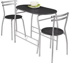 argos kitchen furniture buy home vegas dining table 2 chairs black at argos co uk