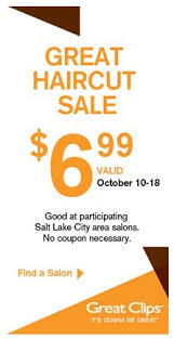 haircut specials at great clips utah readers 6 99 haircut at great clips freebies2deals