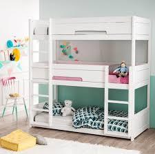 lit pour chambre idées de chambre pour deux et trois enfants