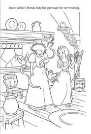 wedding wishes disney snow white and the prince coloring pages coloring pages kids