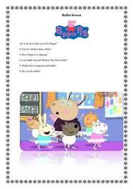 2 free esl u0027peppa pig u0027 worksheets