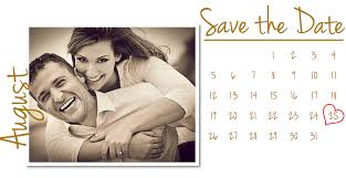 save the date calendar vintage look save the date wedding cards coloring option