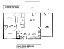 cottages floor plans cottages fairmount homes