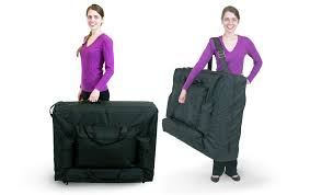 New 30 Width Massage Table Delux Carry Case Now W Wheeled Option