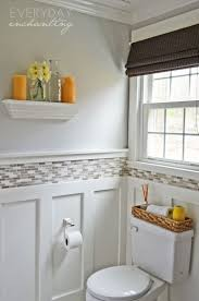 Wainscoting Small Bathroom by 116 Best Bathrooms Images On Pinterest Bathroom Ideas Dream