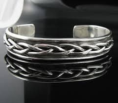 cuff bracelet sterling images 925 sterling silver celtic knot cuff bracelet jpg