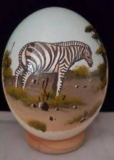 painted ostrich eggs painted ostrich egg ebay