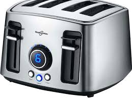T Fal Digital 4 Slice Toaster 12 Best Toasters That Will Make Snacking A Fun Experience