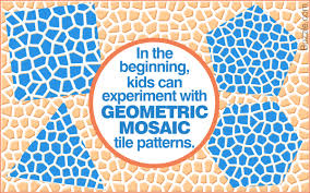 mosaic tile designs mosaic tile patterns for kids great activity to boost creativity