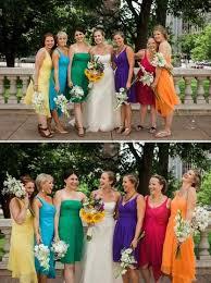 como decidir a cor de vestido das madrinhas de casamento
