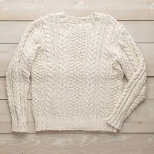 cable sweater s river cotton cable knit sweater guideboat company
