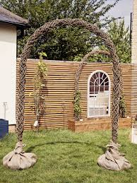 wedding arches on ebay indoor outdoor rustic willow branch wedding arch alter
