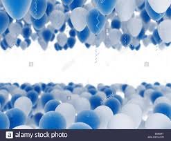 blue and white balloons background stock photo royalty free image