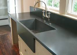 Best Custom Concrete Kitchen Countertops Trueform Concrete - Kitchen counter with sink