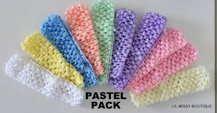 crochet band baby headbands headband x10 bulk wholesale crochet band toddler