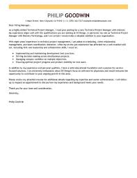 project manager cover letter best technical project manager cover letter exles livecareer