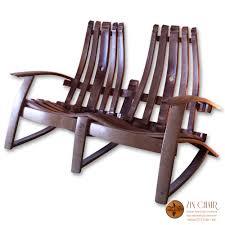Vintage Adirondack Chairs Wine Barrel Furniture For Sale Wine Barrel Chairs Free