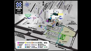 Aspen Map How To Rock The X Games Like A Pro Aspen Snowmass Blog