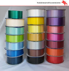 bows for cars presents 91m roll florist ribbon wedding cars bows presents christmas
