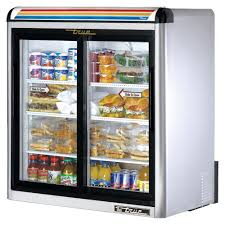 true manufacturing gdm 09 s ld 9 cu ft 2 glass door refrigerated