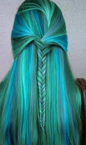 color blue green hottest craze of blue green colors hairs for emo girls