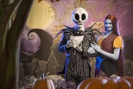 Sally Jack Halloween Costumes Jack Skellington U0026 Sally Debut Mickey U0027s Scary Halloween