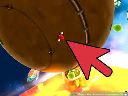 beat bowser super mario galaxy 6 steps pictures