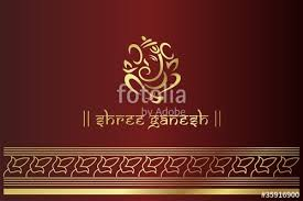 traditional hindu wedding card design rajasthan india