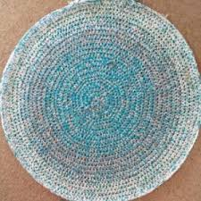 Coil Rug How To Crochet A Round Rag Rug Free Crochet Pattern Beautiful